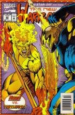 New Warriors (1990-1996) #42 Variant A: Newsstand Edition