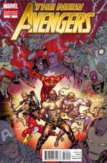 New Avengers (2010-2013) #34 Variant B: Final Issue Cover