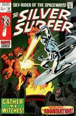 Silver Surfer (1968-1970) #12 Variant B: UK Edition