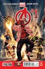 Avengers (2012-2015) #1 Variant I: Deadpool Gangnam Style Cover