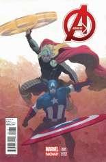 Avengers (2012-2015) #1 Variant G: 1:50 Variant