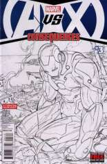 AvX: Consequences #3 Variant C: 2nd Printing