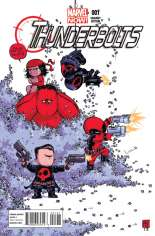 Thunderbolts (2012-2014) #1 Variant C: Baby Cover