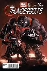 Thunderbolts (2012-2014) #1 Variant E: Hastings Exclusive