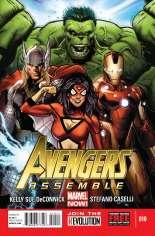 Avengers Assemble (2012-2014) #10 Variant A
