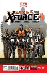Cable and X-Force (2012-2014) #1 Variant A