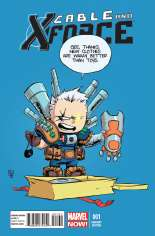 Cable and X-Force (2012-2014) #1 Variant C: Baby Cover