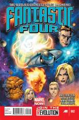 Fantastic Four (2012-2014) #2 Variant A