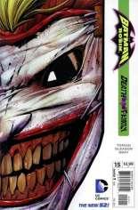 Batman and Robin (2011-2015) #15 Variant B: Direct Edition; Die-Cut Cover