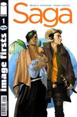 Saga (2012-2018) #1 Variant H: Image Firsts Reprint