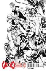 A + X (2012-2014) #3 Variant D: Sketch Cover