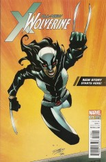 All-New Wolverine (2016-Present) #19 Variant F: Walmart Exclusive Variant Cover