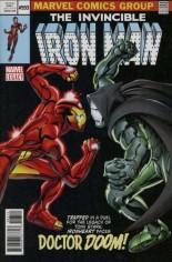 Invincible Iron Man (2017-Present) #593 Variant G: 2nd Printing