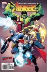 Avengers (2017-2018) #672 Variant G: NYCC Variant