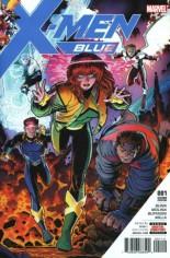X-Men: Blue (2017-Present) #1 Variant J: 2nd Printing