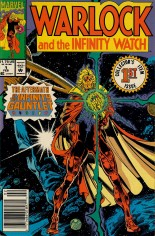 Warlock and the Infinity Watch (1992-1995) #1 Variant A: Newsstand Edition