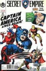 Secret Empire (2017-Present) #1 Variant M: The Stan Lee Box Exclusive