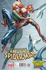Amazing Spider-Man (1999-2014) #700 Variant F: Midtown Comics Exclusive