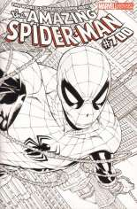 Amazing Spider-Man (1999-2014) #700 Variant H: Sketch Cover