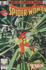 Spider-Woman (1978-1983) #38 Variant C: UK Edition