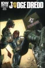Judge Dredd (2012-2015) #1 Variant N: Forbidden Planet Exclusive