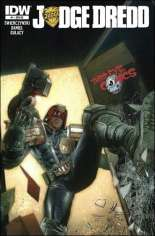 Judge Dredd (2012-2015) #1 Variant Z: Third Eye Comics Exclusive