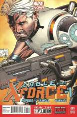Cable and X-Force (2012-2014) #1 Variant E: 1:50 Variant