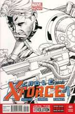 Cable and X-Force (2012-2014) #1 Variant F: 1:100 Sketch Cover