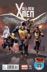 All-New X-Men (2013-2015) #1 Variant K: Mile High Comics Exclusive