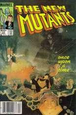 New Mutants (1983-1991) #22 Variant A: Newsstand Edition