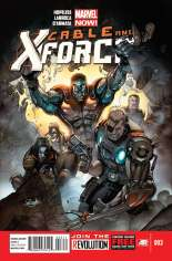 Cable and X-Force (2012-2014) #3 Variant A