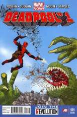 Deadpool (2012-2015) #1 Variant H: 2nd Printing