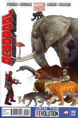 Deadpool (2012-2015) #2 Variant C: 2nd Printing