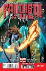 Fantastic Four (2012-2014) #3 Variant A