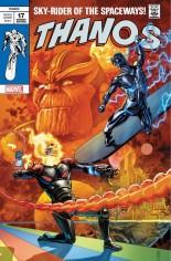 Thanos (2017-2018) #17 Variant E: Silver Surfer #4 Homage Trade Dress Variant