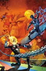 Thanos (2017-2018) #17 Variant F: Silver Surfer #4 Homage Trade Virgin Variant