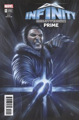 Infinity Countdown Prime #1 Variant D: Logan Holds Infinity Variant