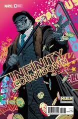 Infinity Countdown Prime #1 Variant F: Hulk Smash Cover