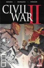 Civil War II (2016) #1 Variant ZC: Premiere Variant Cover