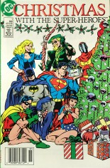 Christmas with the Super-Heroes #1 Variant A: Newsstand Edition
