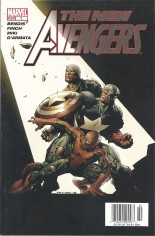 New Avengers (2005-2010) #2 Variant A: Newsstand Edition