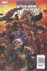 New Avengers (2005-2010) #50 Variant A: Newsstand Edition Wraparound Cover