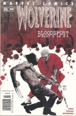 Wolverine (1988-2003) #168 Variant A: Newsstand Edition