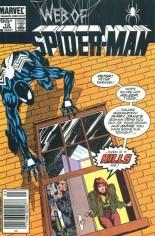 Web of Spider-Man (1985-1995) #12 Variant C: 95 Cent Variant