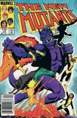 New Mutants (1983-1991) #14 Variant C: 75 Cent Variant