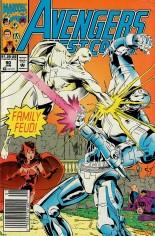 Avengers West Coast (1989-1994) #90 Variant A: Newsstand Edition