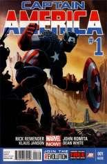 Captain America (2012-2014) #1 Variant I: 2nd Printing