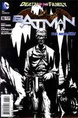 Batman (2011-2016) #16 Variant D: 1:100 Sketch Cover