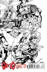 A + X (2012-2014) #4 Variant D: Sketch Cover