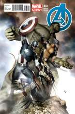 Avengers (2012-2015) #3 Variant D: Incentive Cover